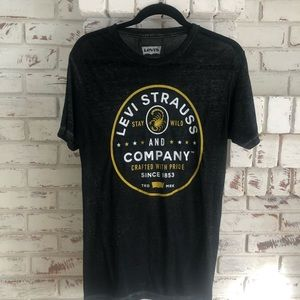 Levi's Burnout T shirt Small